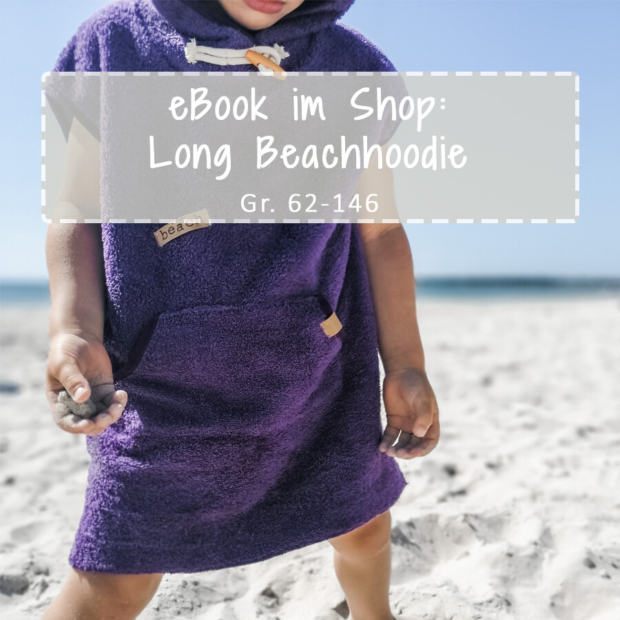 Long Beachhoodie Schnittmuster eBook Kinder ist online