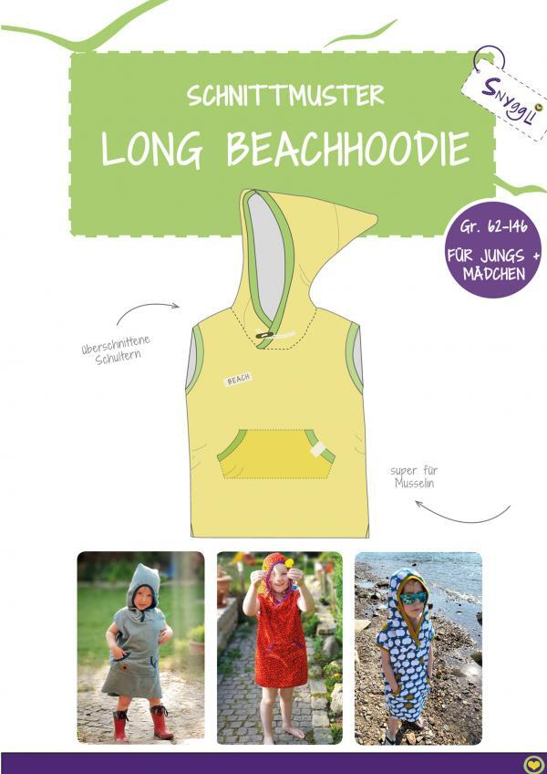 Snyggli_Schnittmuster_Long Beachhoodie_Cover