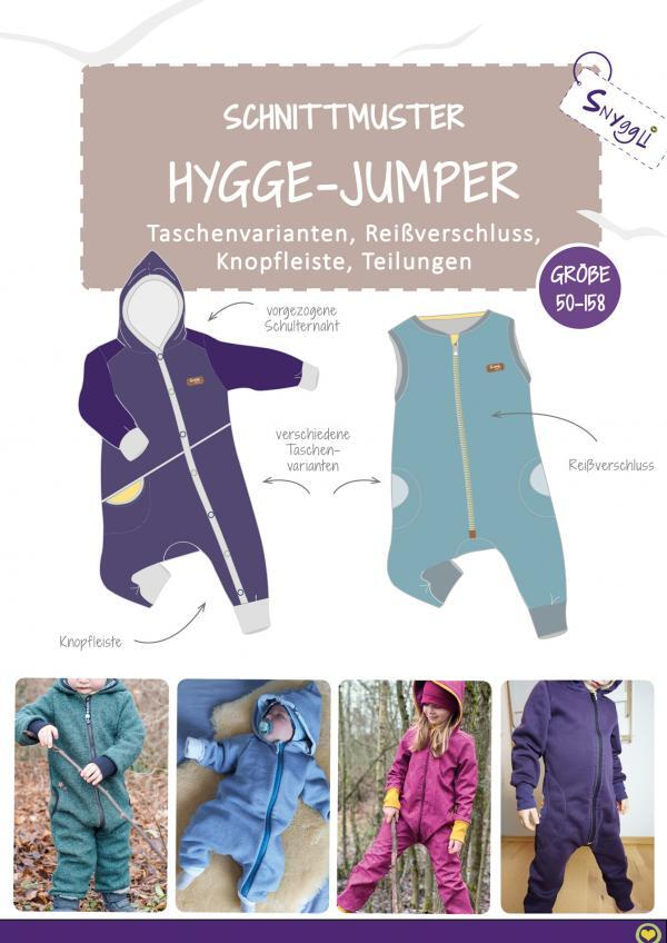 Hygge Jumper Schnittmuster ebook Snyggli Baby Kinder