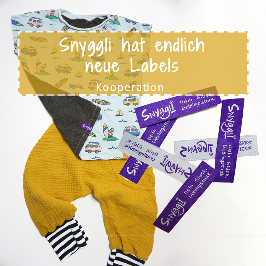 Snyggli Labels Namensbänder Blog