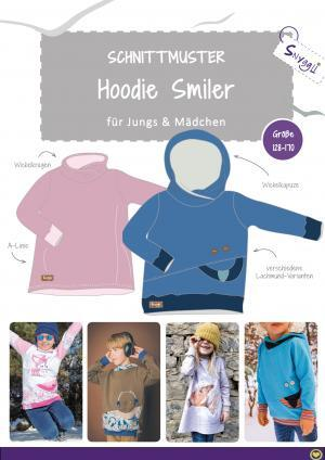 Snyggli Schnittmuster Hoodie Smiler_128-170_Cover