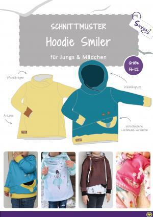Snyggli Schnittmuster Hoodie Smiler_Cover_2