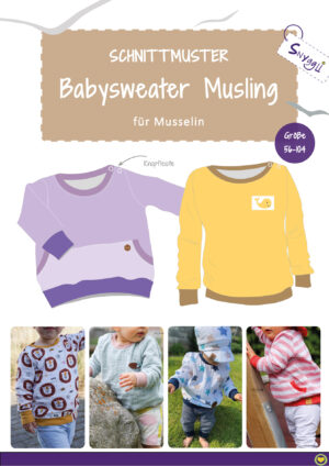 Snyggli-Schnittmuster-Musselin-Naehanleitung-Babysweater-Musling-cover